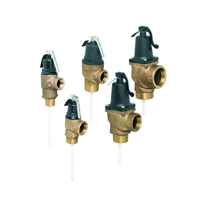 Reliance Water Controls (RWC) Lever Top Pressure And Temperature ...