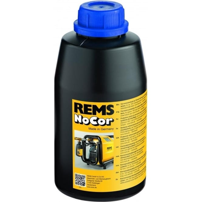Rems 115608 NoCor Corrosion Protection For Heating Systems (Blue Dye)