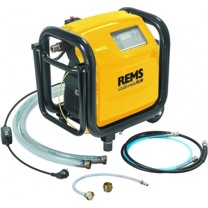 Rems 115611  Multi-Push SLW Set  Electronic Flushing And Pressure Testing Unit