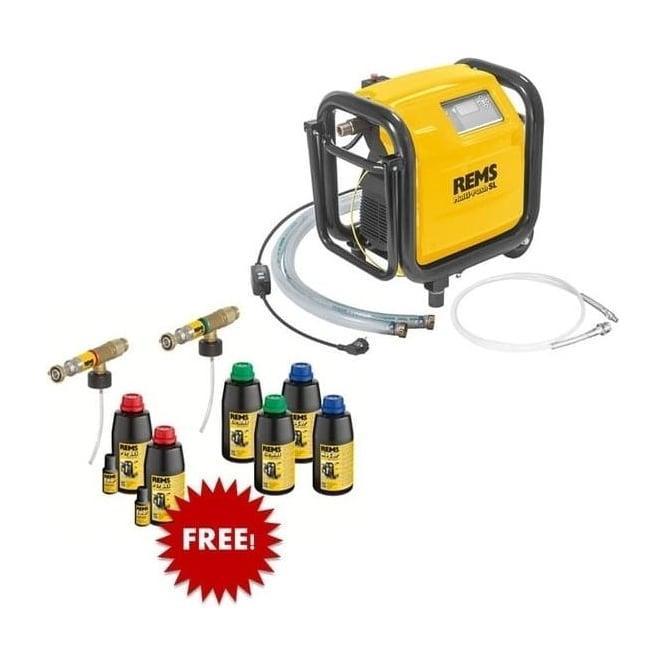 Rems 1156X2  Multi-Push SLW Set  Electronic Flushing And Pressure Testing Unit