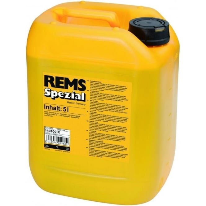 Rems 140100 Spezial 5L Can Thread Cutting Oil