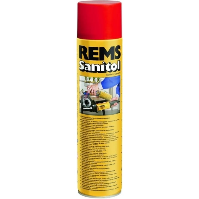 Rems 140115 Sanitol Spray Mineral Free Cutting Oil 600ml