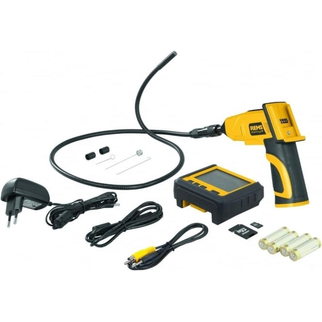 Rems (175131) CamScope S Set 9-1 Mobil Handy Endoscope Camera With Radio Transmission And Voice Recording