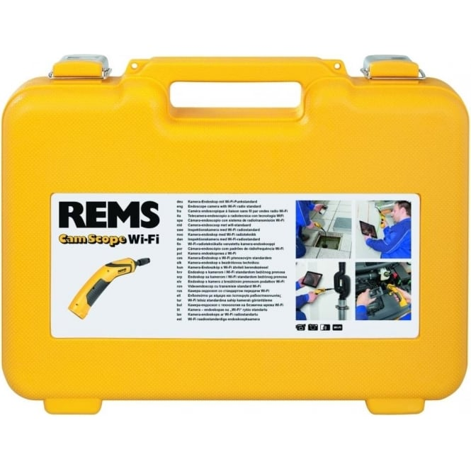 Rems 175140 CamScope Set Wi-Fi 16-1 Handy Endoscope Camera With Wi-Fi