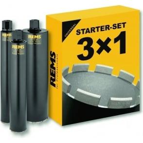 (181102) UDKB Set 62-82-132 Diamond Core Starter Kit