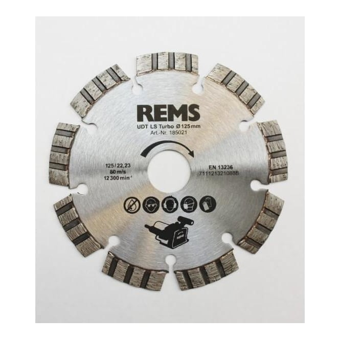 Rems 185021 Universal Diamond Cutter Blade LS Turbo Ø 125mm