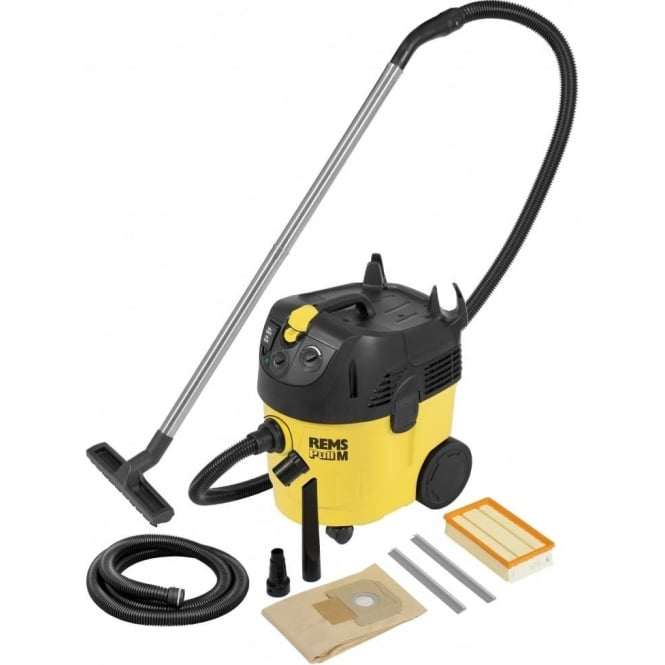 Rems 185501 Pull M Set Industrial Vacuum Cleaner