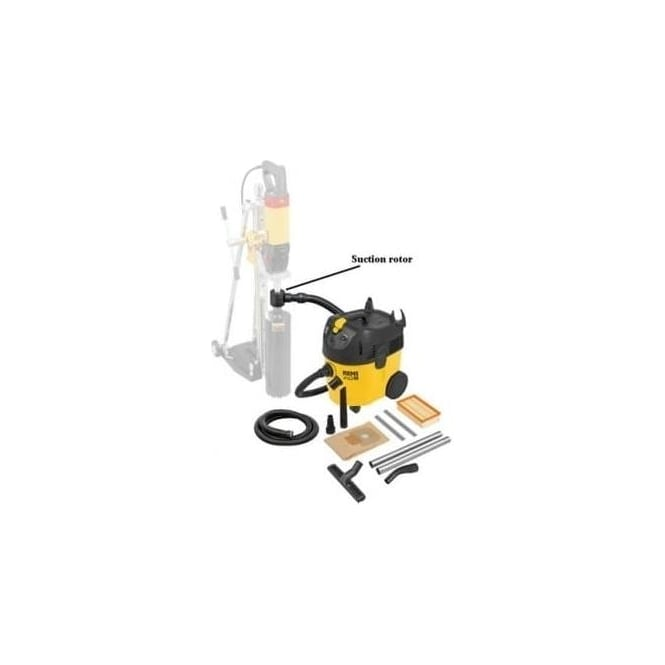 Rems 185504 Pull M Set D Industrial Vacuum Cleaner