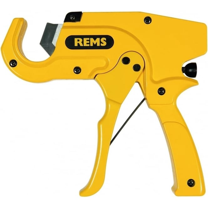 Rems (291220) ROS P 35 A Automatic Pipe Cutter For Plastic And Multilayer 0-35mm Dia