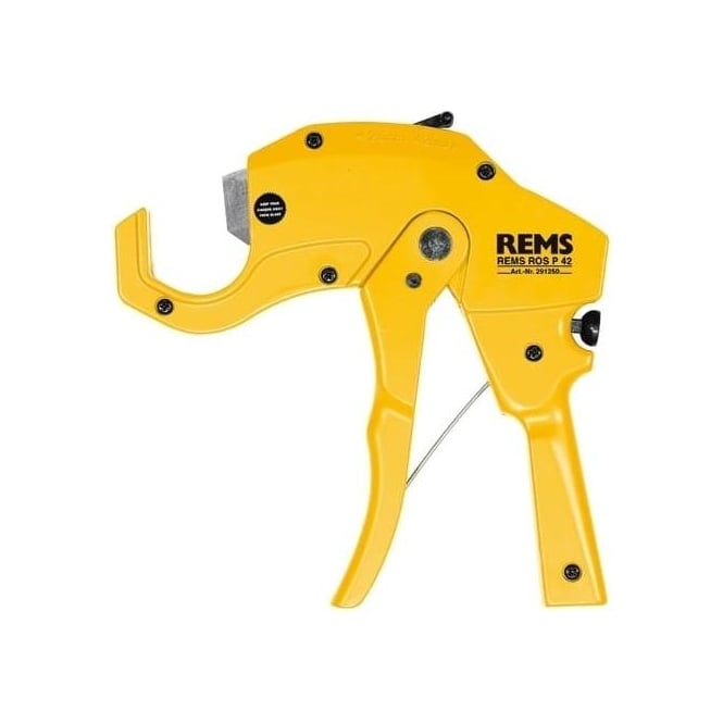 Rems 291250 ROS P Plastic Pipe Cutter 0-42mm