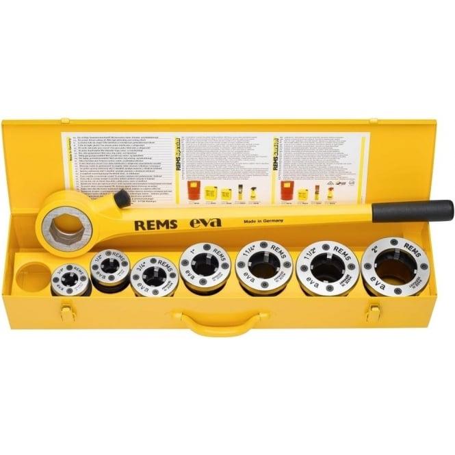 """Rems 520017 Eva Ratchet Hand Threading Machine R 1/2"""" - 2 Die Stock"""