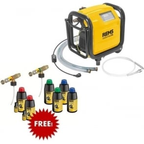 REMS 1156X2  Multi-Push SLW Set  Electronic Flushing And Pressure Testing Unit