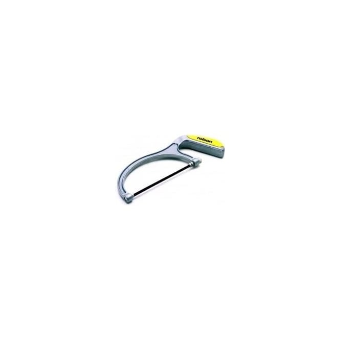 Rolson junior hacksaw aluminium body (58219)