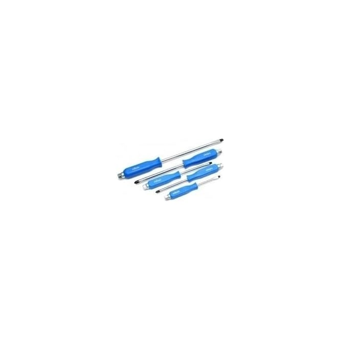 Rolson screwdriver set hexagonal shank 5-piece (28594)