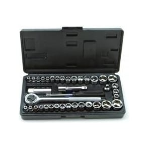 "ROLSON socket set 3/8"" & 1/4"" 40-pieces (36109)"