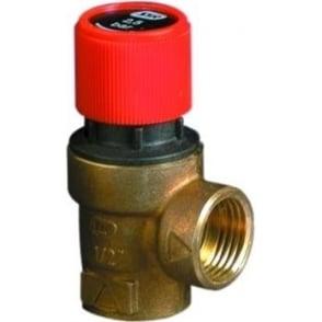 101 Series Sealed heating System Pressure Relief Valve