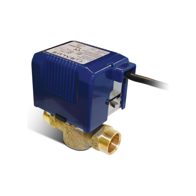 Salus 22mm 2-port standard motorised valve SBMV22