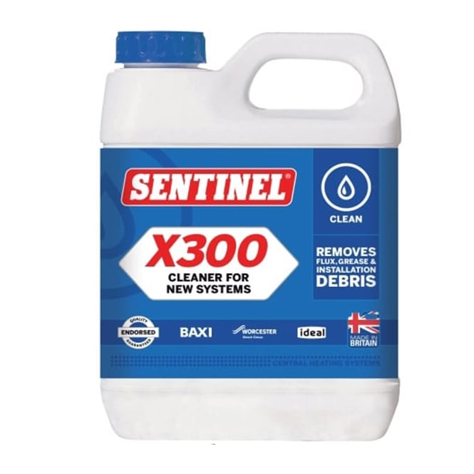 Sentinel x300 Universal System Cleanser 1Litre
