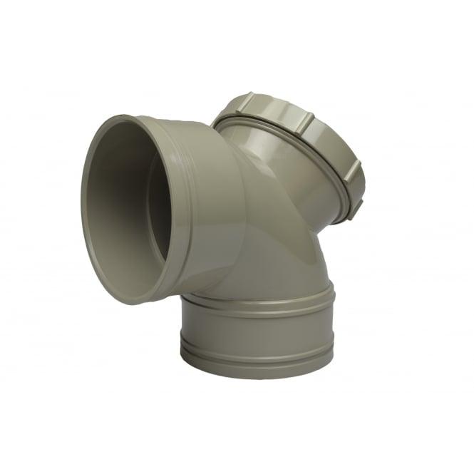 Solvent Weld Soil Access Bend 90° (Double Socket)