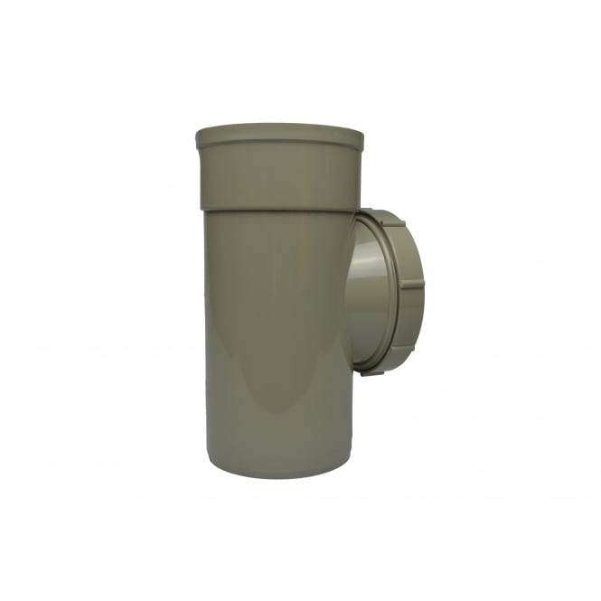 Solvent Weld Soil Access Pipe (Single Socket)*