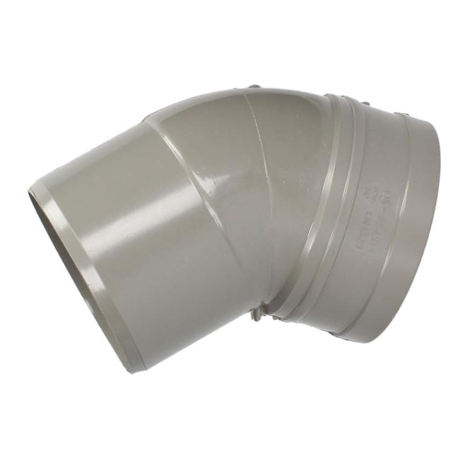 Solvent Weld Soil Bend 45° (Single Socket)*