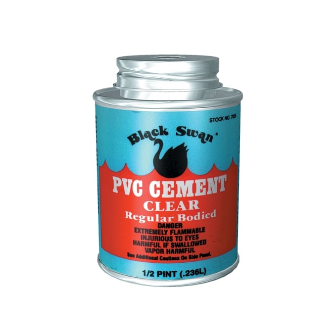 Solvent For Pvc Pipe And Cement : Solvent weld soil black swan pvc cement clear pipe