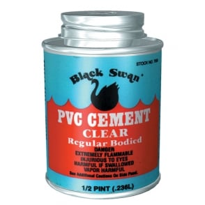 Black Swan PVC Cement Clear