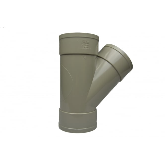 Solvent Weld Soil Tee/Branch 45° (Double Socket)*