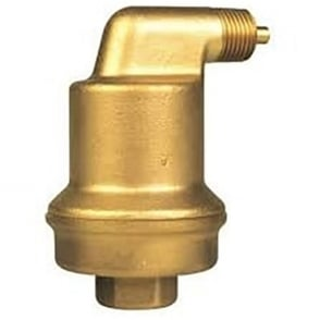 "Spirotop 1/2"" Autoclose Automatic Air Vent AAV (Brass)"