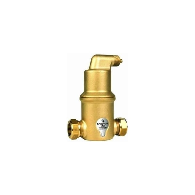 Spirotech Spirovent Air Separator (Brass) 180°C - 10 Bar