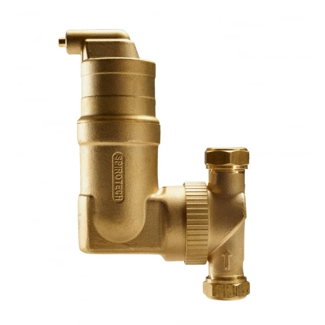Spirotech Spirovent Air Separator For High Temperature And