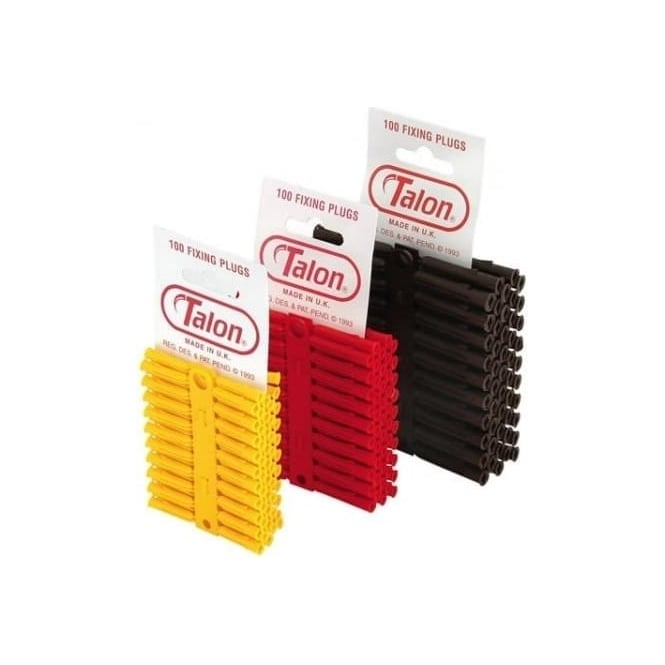 Talon Red Wall Plugs 5.5mm (Drill Bit Required) Bulk Buy