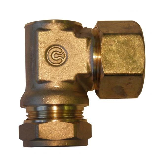 Tracpipe AutoFlare x Copper Compression 90° Elbow