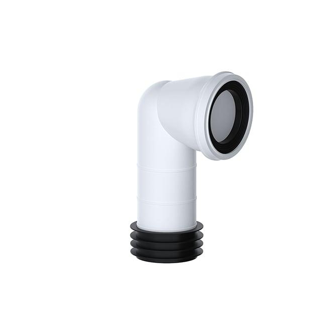Viva Sanitary 90° Bend WC Pan Connector