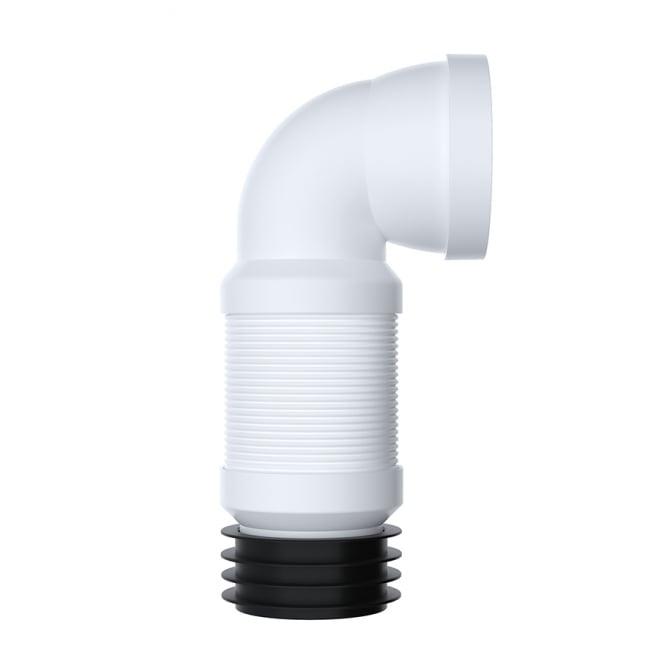 Viva Sanitary 90° Flexible Pan Connector (350mm - 650mm)