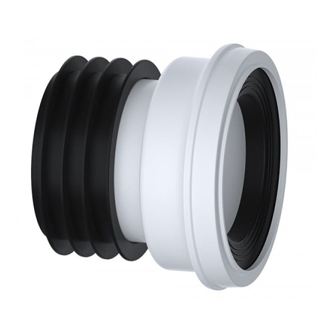 "Viva Sanitary Straight WC Pan Connector 4"" (110mm)"