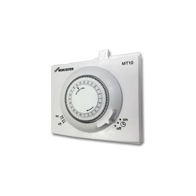 Worcester 24v Mechanical Single Channel Plug-In Timer