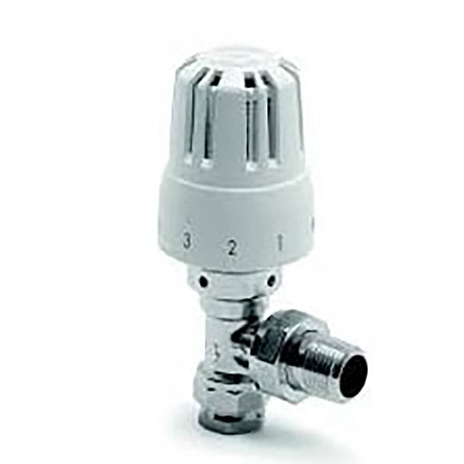 Belmont Angled/ Vertical Anti Theft TRV Valve and Body B4452/4 Anti Theft