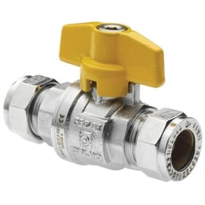 PB300T Full Bore Valve Yellow T Handle