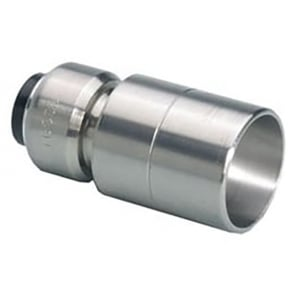 Tectite Classic Chrome Reducer 15mm x 10mm