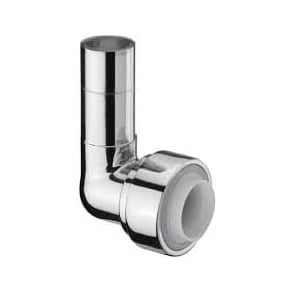 Terrier Chrome Push Fit Elbow