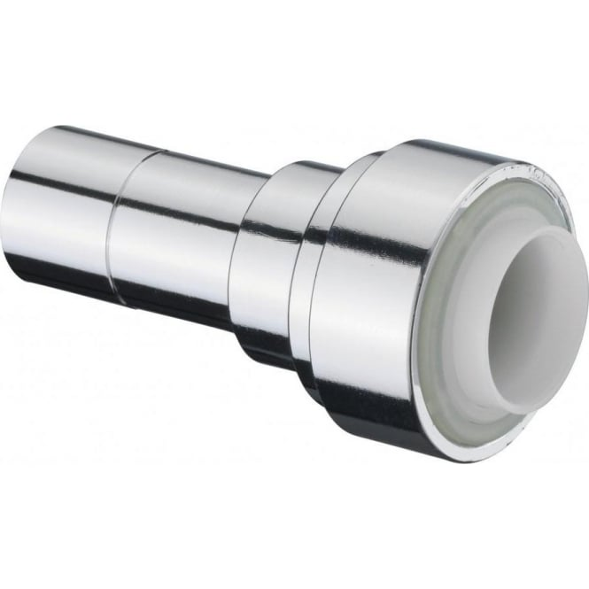 Pegler Yorkshire Terrier Chrome Straight Connector Push Fit ...