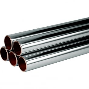 Chrome Plated Copper Tube