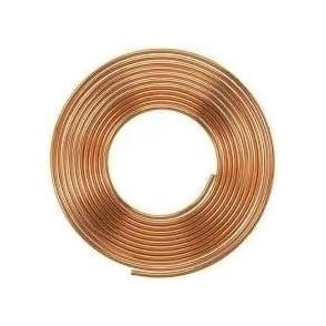 Copper Coil 15mm x 1mm x 25m